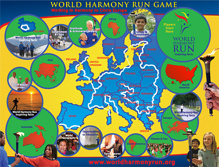 World Harmony Run European Game