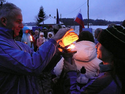 The Harmony Run torch warms up both our hearts and hands (II.)