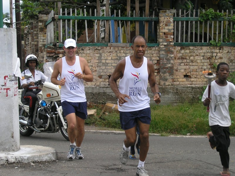 Caribbean Run starts with kids in Spanish Town, Jamaica