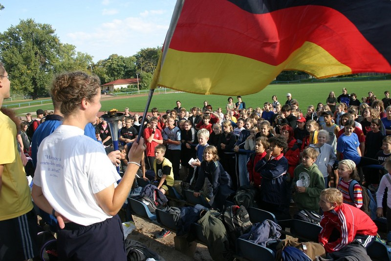 Germany, School Visit