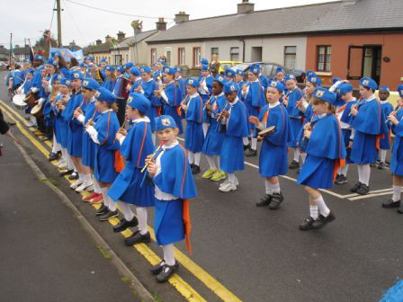 The school band of Claddagh