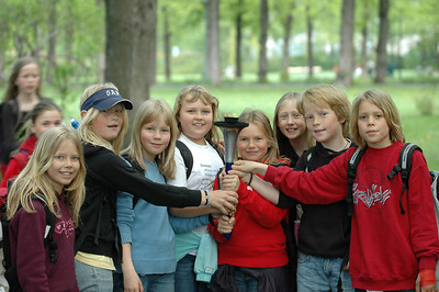 Children from park