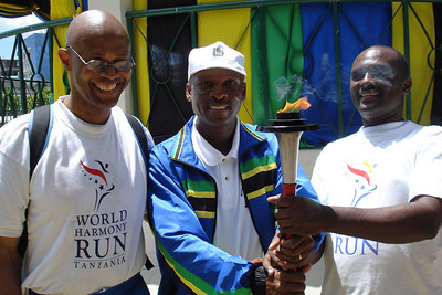 Manatita, Mr Frank Macha - Olympic Coach/MC and Sports Development Officer at the Ministry with The Pastor Polemo Massawe