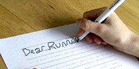 Read messages sent to the runners