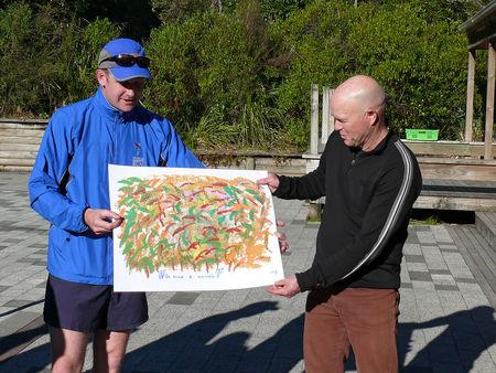 New Zealand 17 September: Taupo – National Park | World Harmony Run
