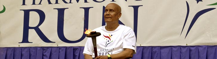 Sri Chinmoy: World Harmony Run Founder